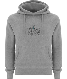 Octopus - Clothing - Melange Grey / X-Small - 100% cotton - Banshy