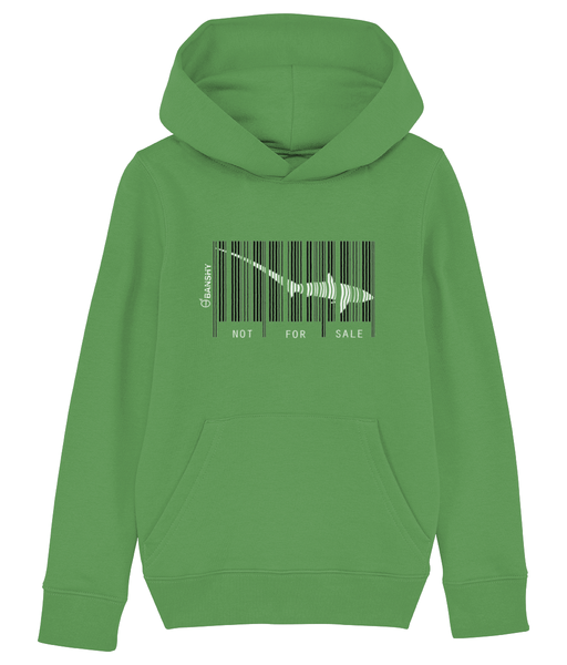 Bar code tresher shark - Clothing - Fresh Green / XS / 3-4 - 100% cotton - Banshy