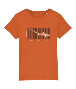 Not for sale tresher shark - Clothing - Bright Orange / XS / 3-4 - 100% cotton - Banshy