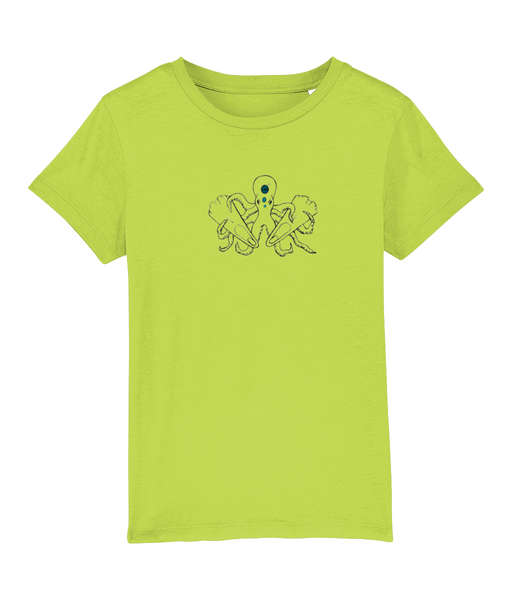 Octopus - Clothing - Scale Green / XS / 3-4 - 100% cotton - Banshy