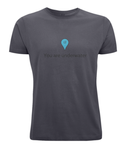 You are underwater - Clothing - Navy / X-Small - 100% cotton - Banshy