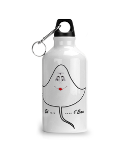Aluminium Sports Water Bottle raie - Mugs & Drinkware - [variant_title] - 100% cotton - Banshy
