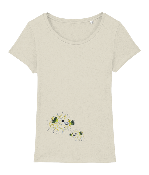 pufferfish - Clothing - Mid Heather Beige / X-Small - 100% cotton - Banshy