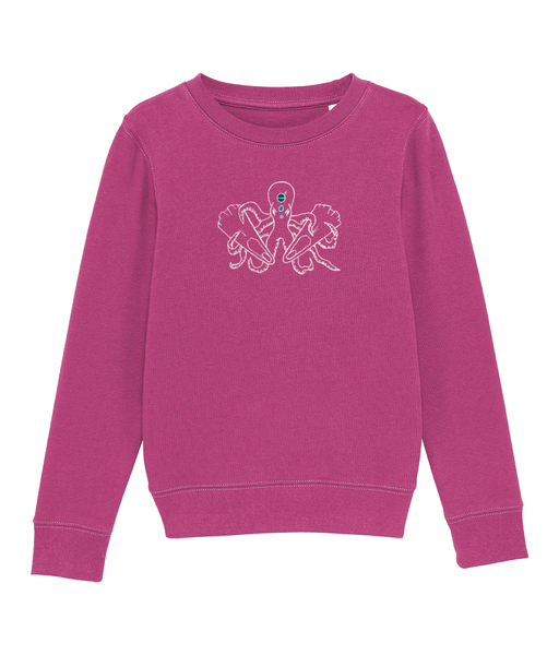 Octopus - Clothing - Raspberry / XS / 3-4 - 100% cotton - Banshy