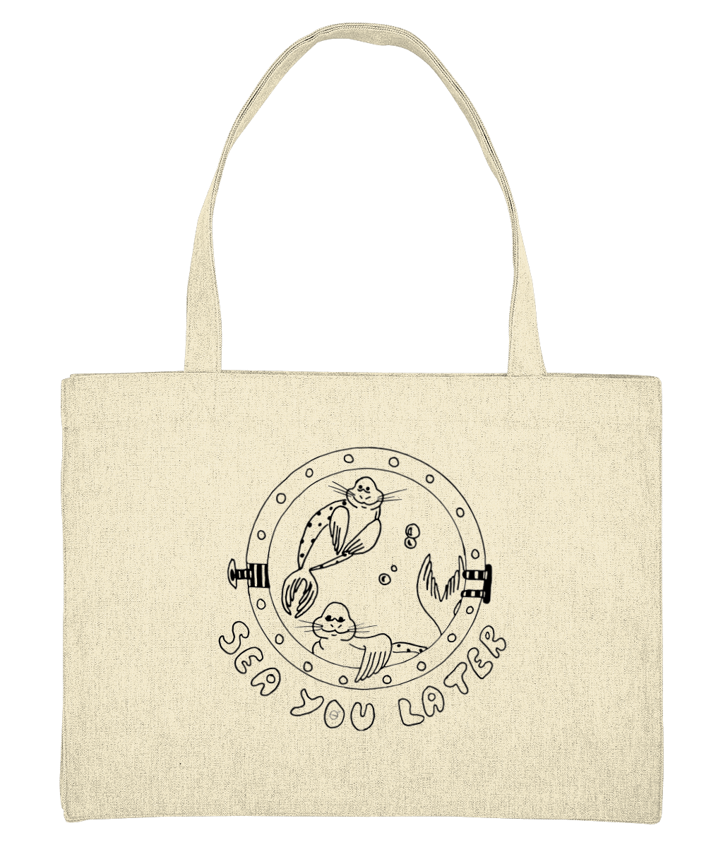 Seals, sea you later - Bag - [variant_title] - 100% cotton - Banshy