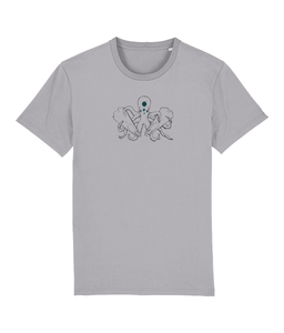 Octopus - Clothing - Mid Heather Grey / X-Small - 100% cotton - Banshy