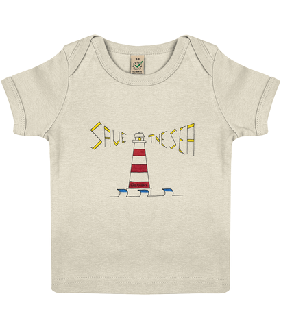 Lighthouse baby - Clothing - 3-6 months / Ecru - 100% cotton - Banshy