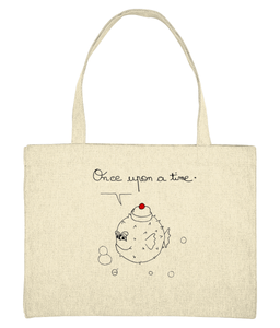 Once upon a time, puffer fish - Bag - [variant_title] - 100% cotton - Banshy