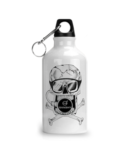 Aluminium Sports Water Bottle Pirate - Mugs & Drinkware - [variant_title] - 100% cotton - Banshy