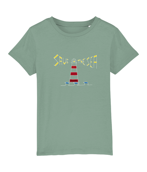 Lighthouse - Clothing - Mid Heather Green / XS / 3-4 - 100% cotton - Banshy