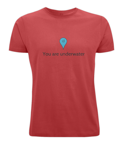 You are underwater - Clothing - Red / X-Small - 100% cotton - Banshy