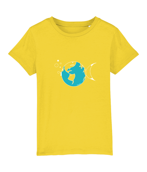 Globe trotter - Clothing - Golden Yellow / XS / 3-4 - 100% cotton - Banshy