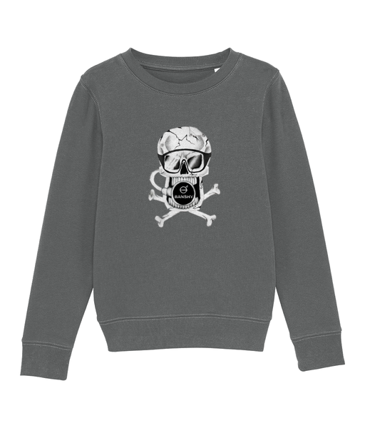 Pirate - Clothing - Heather Grey / XS / 3-4 - 100% cotton - Banshy