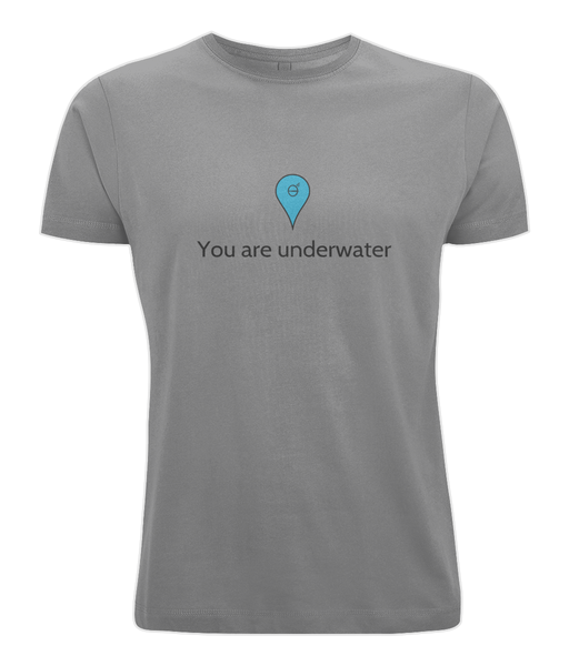 You are underwater - Clothing - Dark Heather / X-Small - 100% cotton - Banshy