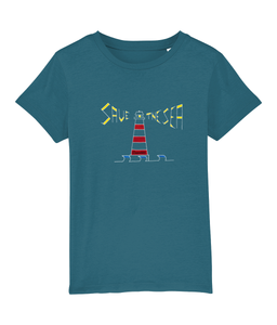 Lighthouse - Clothing - Ocean Depth / XS / 3-4 - 100% cotton - Banshy