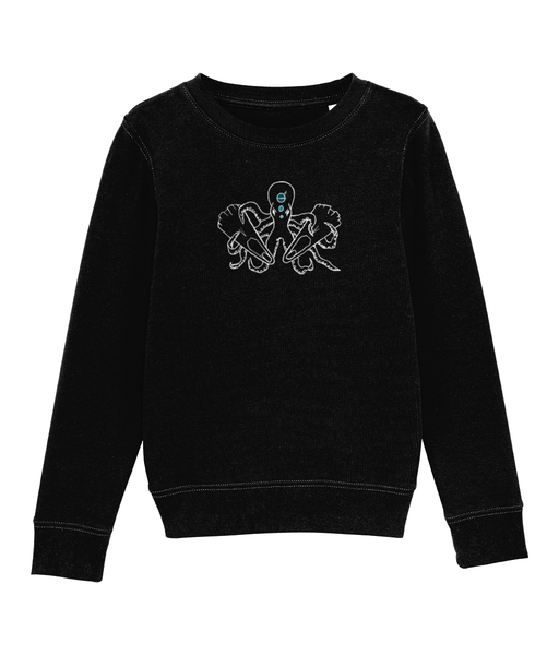 Octopus - Clothing - Black / XS / 3-4 - 100% cotton - Banshy