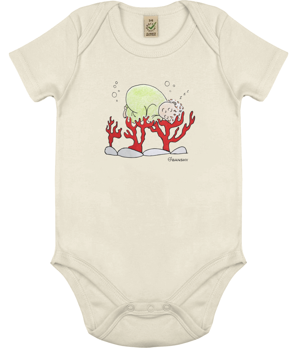 Babygrow world's arms - Clothing - Ecru / 0-3 months - 100% cotton - Banshy
