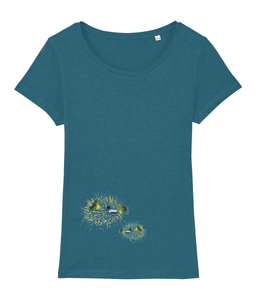 pufferfish - Clothing - Ocean Depth / X-Small - 100% cotton - Banshy