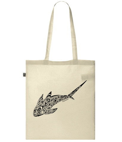 Tribal shark - Bag - [variant_title] - 100% cotton - Banshy