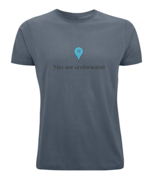 You are underwater - Clothing - Denim Blue / X-Small - 100% cotton - Banshy