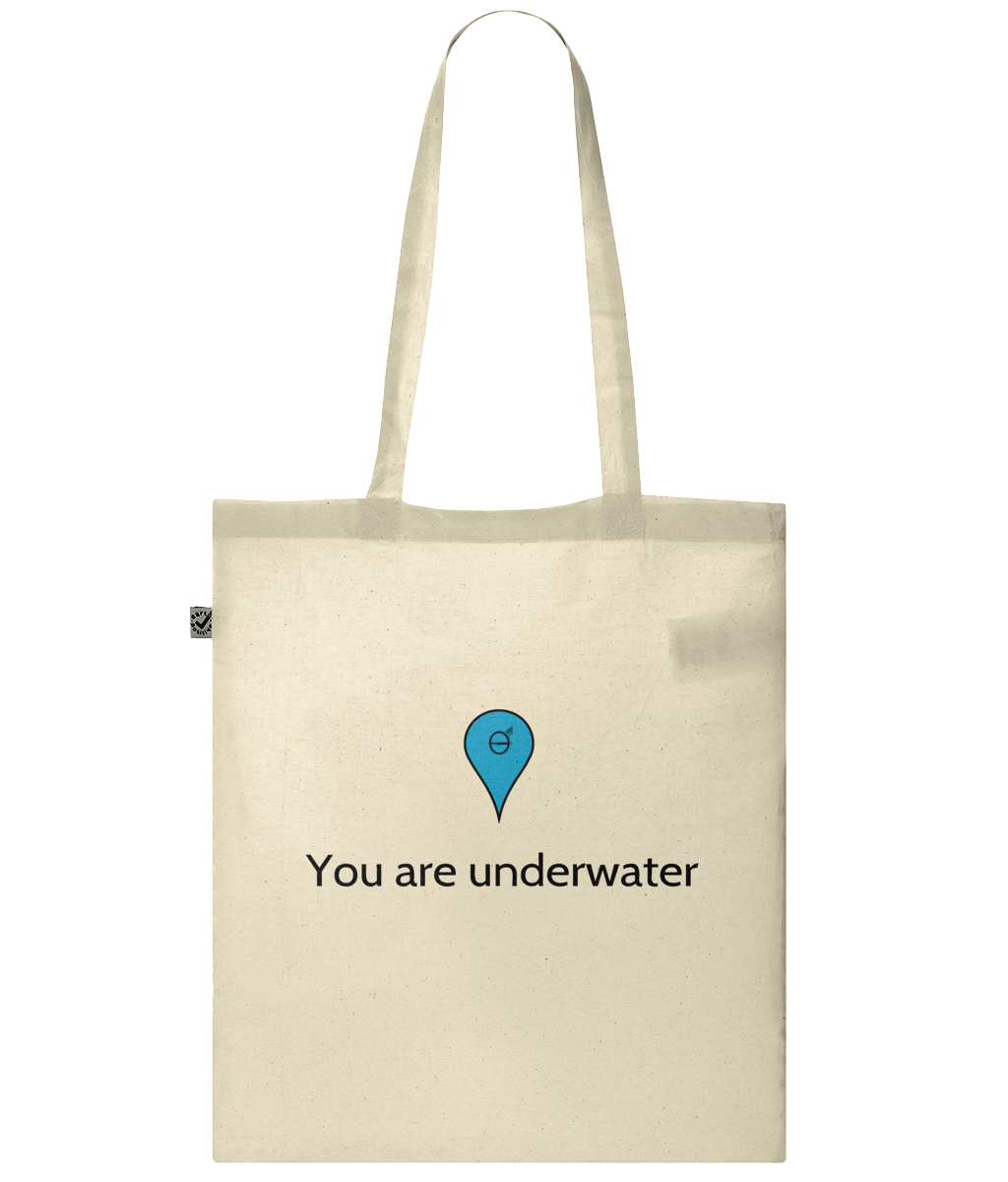 You are underwater - Bag - [variant_title] - 100% cotton - Banshy