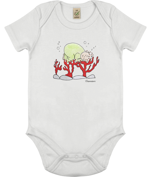 Babygrow world's arms - Clothing - White / 0-3 months - 100% cotton - Banshy