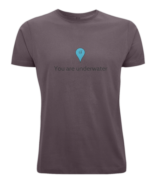 You are underwater - Clothing - Eggplant / X-Small - 100% cotton - Banshy