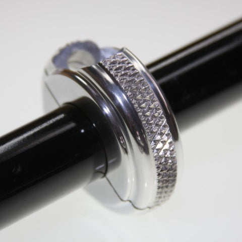 1 inch chrome motorcycle mirror clamp