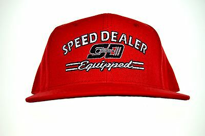 Speed Dealer Equipped Flat Bill Hat