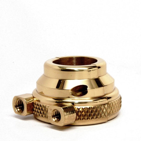 "Harley Throttle Housing 1"" Knurled Dual Cable"