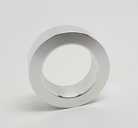 HARLEY WHEEL AXLE SPACER SINGLE OEM – OD 1.125″ X ID .750″ X .375″ L-MACHINED POLISHED
