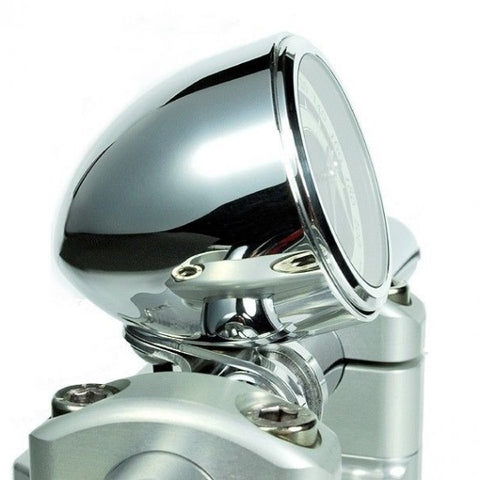 MOTOGADGET MST STREAMLINE CUP, 1 INCH BARS-POLISHED HOUSING