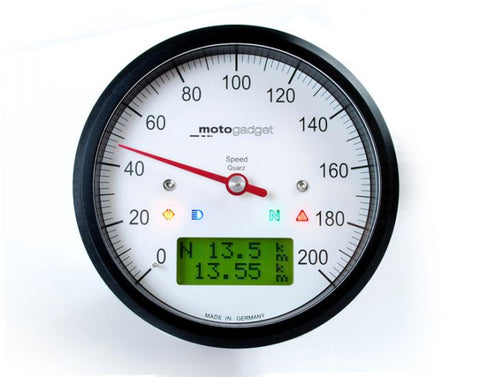 MOTOGADGET MOTOSCOPE CLASSIC SPEEDO (MSC)-BLACK