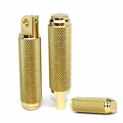 Speed Dealer Customs Brass Foot Pegs and Toe Peg Combo