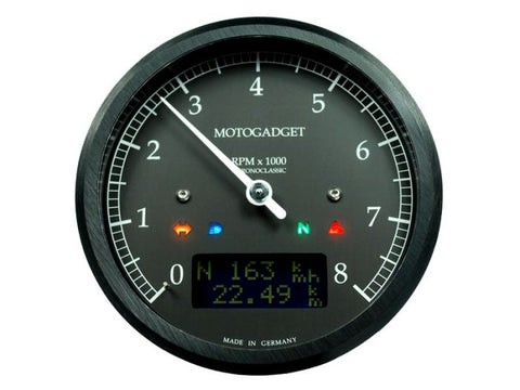 MOTOGADGET CHRONOCLASSIC 8K DARKEDITION (MSC)-BLACK