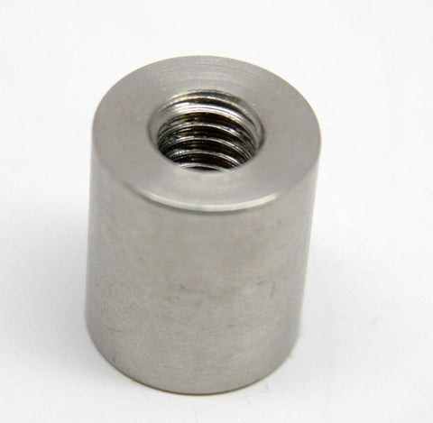 3/8 INCH-16 X 7/8 INCH THREADED 304 STAINLESS STEEL BUNG