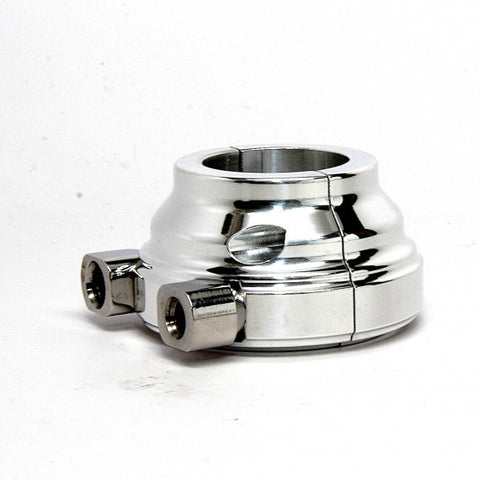 "Harley Throttle Housing 1"" Smooth Dual Cable"
