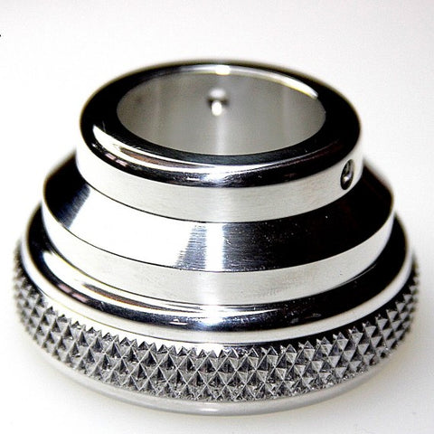 "7/8"" Knurled Chrome Dummy Harley Throttle Housing"
