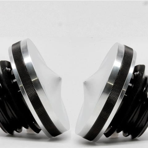 Speed Dealer Customs Gas Cap Set Pointed Series for Harley Davidson
