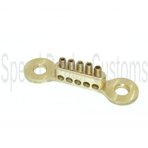SPEED DEALER CUSTOMS SMALL BRASS GROUNDING TERMINAL