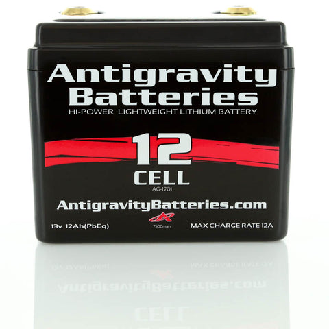 ANTI-GRAVITY 12 CELL BATTERY for MOTORCYCLES