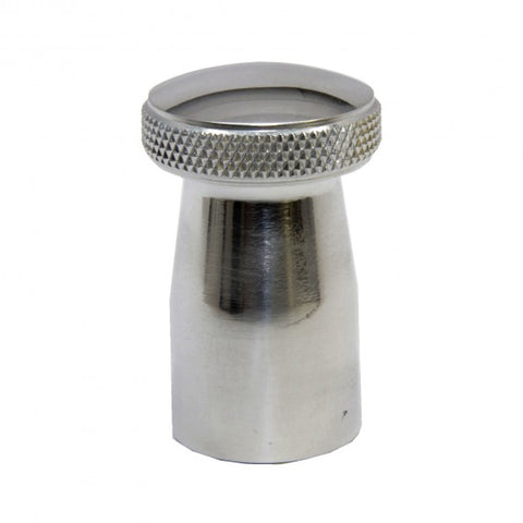 S&S E G Carb Domed Choke Knob-POLISHED