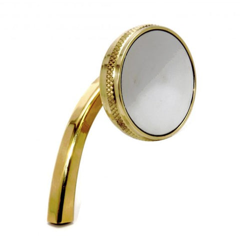 2.5 inch right hand solid brass mirror