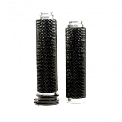1 inch MOTORCYCLE GRIPS-ALUMINUM ACCENT MACHINED