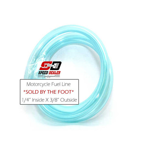 Blue Fuel Hose Sold by the Foot