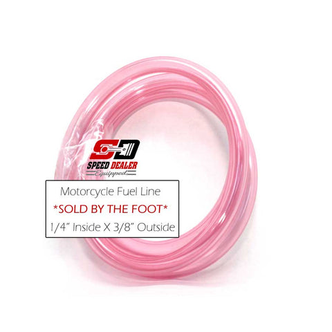 Red Fuel Hose Sold By the Foot