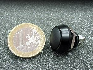 MOTOGADGET PUSH BUTTON COMPACT M12-BLACK