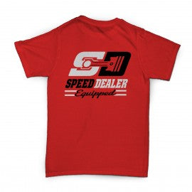 Speed Dealer Equipped Red T-Shirt