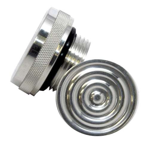"aluminum motorcycle oil cap for 1-5/16"" thread oil bags, west coast choppers"