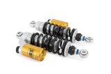 ohlins stx 36 shocks for Harley Davidson Motorcycles with Black Springs